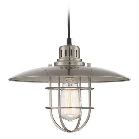 nautical style table ls lite source polished steel pendant light with coolie shade