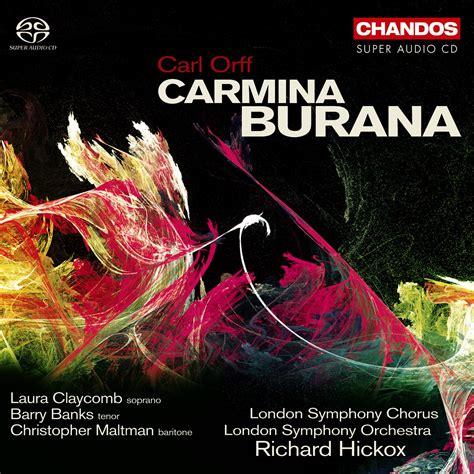 carmina burana best recording recordings archive claycomb