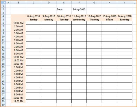 schedule builder template doc 511658 weekly class schedule template for excel