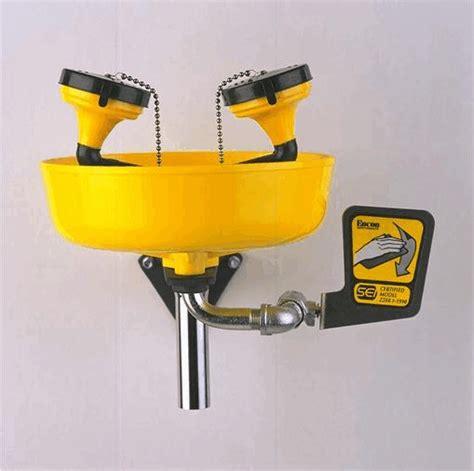 Plumbed Eyewash Station Requirements eyewash stations and showers