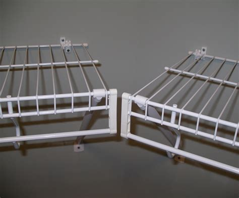 Wire Closet Shelving Parts by Pictures Of Wire Shelving For Custom Closets Closets