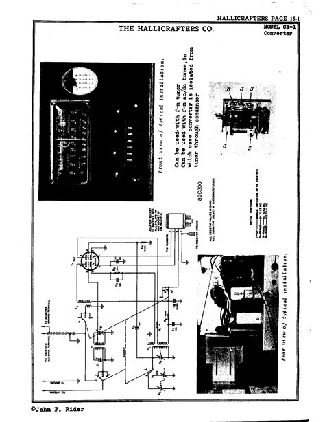 Hallicrafters, Inc. CN-1   Antique Electronic Supply
