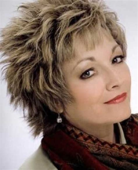 google short shaggy style hair cut 30 modern haircuts for women over 50 with extra zing