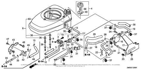 honda gvc160 carburetor diagram honda engines gcv160a s3h engine usa vin gjaea 1000001