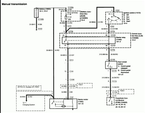 focus mk2 wiring diagram focus rs mk2 wiring diagrams