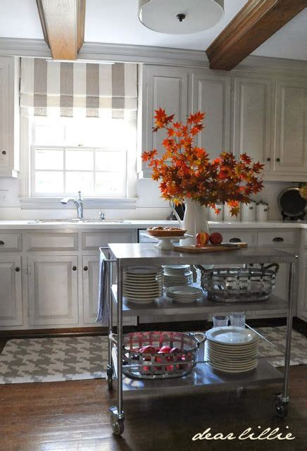 roman shades for kitchen