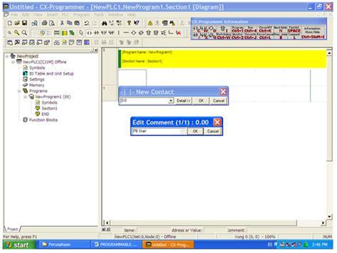 detik kar source code aplikasi pemrograman ladder pada plc omron
