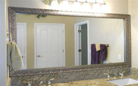 Bathrooms Mirrors Ideas Bathroom Mirror Frame Ideas Aneilve