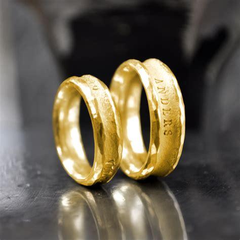 Partnerringe Gold by Pureform Eheringe Partnerringe Anders Gold 999
