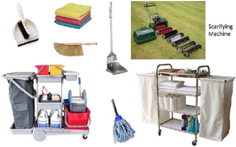 a manual for cleaning hotel housekeeping cleaning equipment