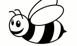 Bubble bees colouring pages page 2