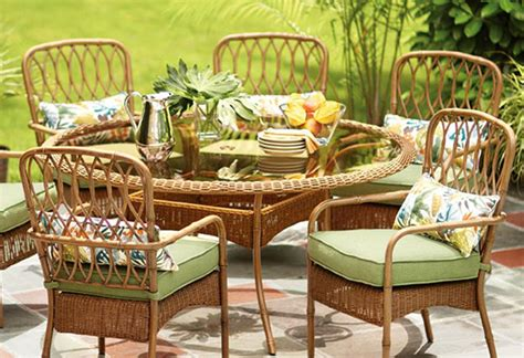 when to buy patio furniture choose the right furniture for your patio at the home depot