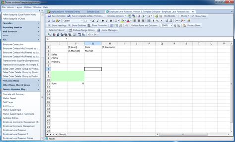 data input with dodeca part 6 sql and essbase hybrid
