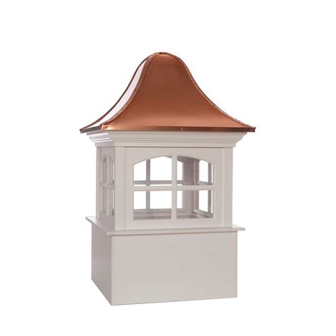 Copper Cupola Roof Directions Greenwich 42 In X 65 In Vinyl Cupola