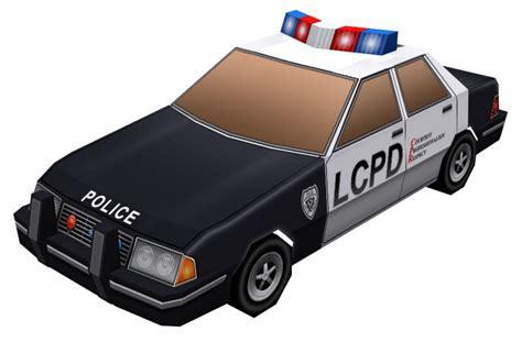 Gta Papercraft - file policecar gtacw papercraft jpg