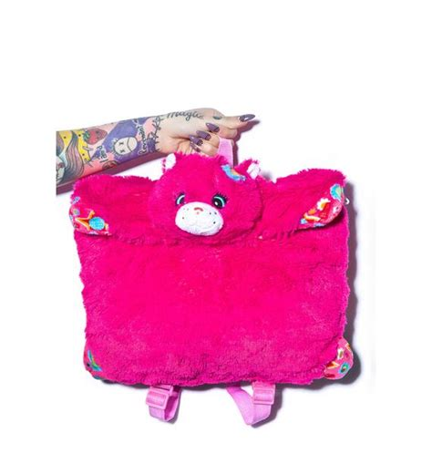 Pillow Pet Backpack by Pillow Pets Flower Power Cat Backpack Dolls Kill