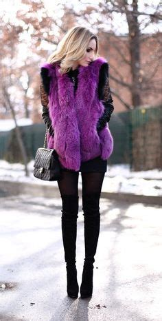 Pita Vest Lavender 1000 images about fashion fur winter on silver foxes fur and faux fur