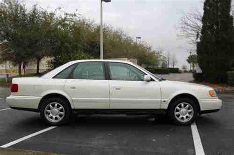 security system 1996 audi a4 regenerative braking buy used 1996 audi a6 quattro base sedan 4 door 2 8l low