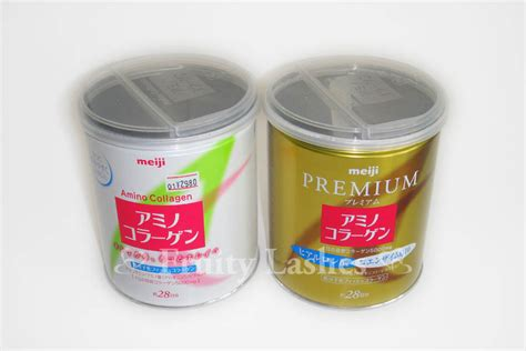 Amino Collagen Premium meiji amino collagen vs premium collagen fruity lashes