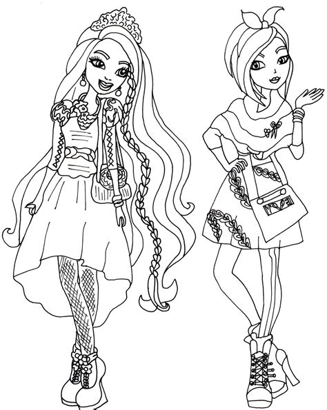 coloring pages star darlings ever after high coloring pages coloring home