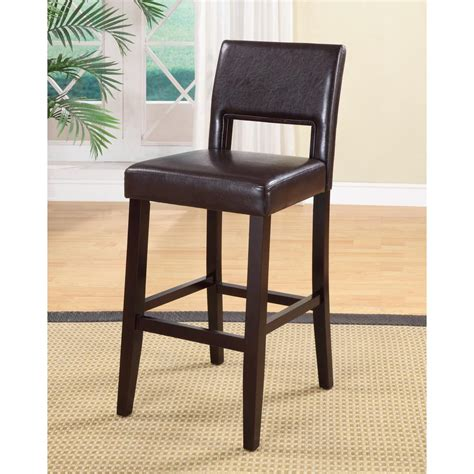 home decorators collection bar stools home decorators collection vega 30 in dark brown