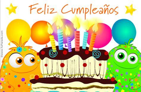 imagenes virtuales para feliz cumpleaños tarjeta de feliz cumple de locos todos locos tarjetas
