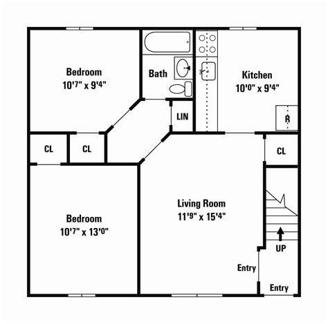 small plan 975 square feet 2 bedrooms 1 bathroom 110 small home floor plans under 600 sq ft house plan 2017