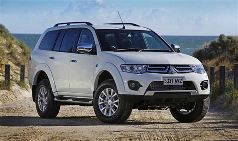 mitsubishi sports car 2014 2014 mitsubishi pajero sport facelift launched in australia