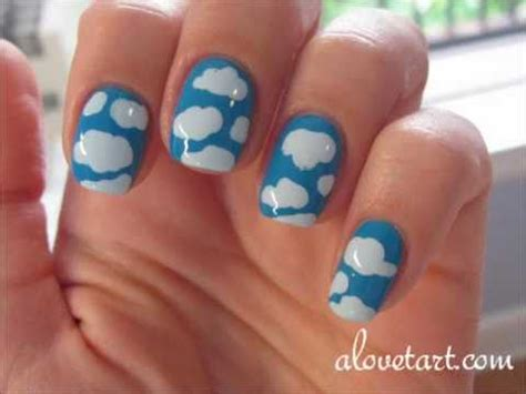 ombre nail art tutorial using acrylic paint cloud acrylic nail small house plans modern