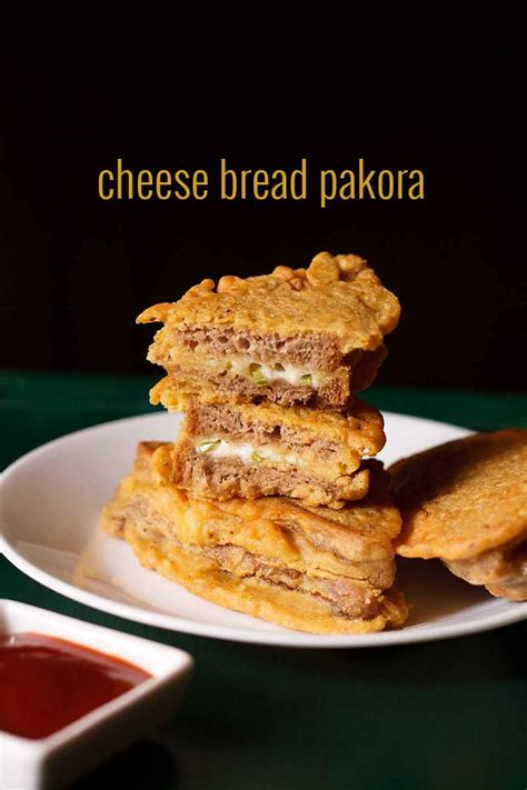 Cottage Cheese Pakora Recipe by Cheese Bread Pakora Recipe How To Make Bread Cheese