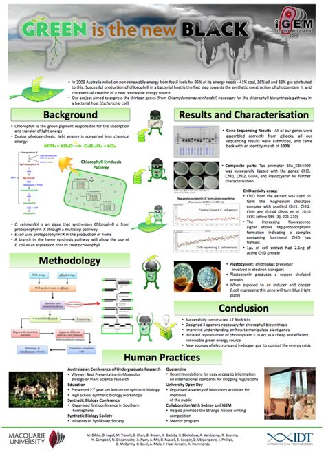 poster design requirements poster guidelines 2014 igem org