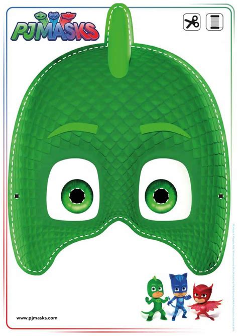 printables pj masks owlette gekko catboy masks  mommy