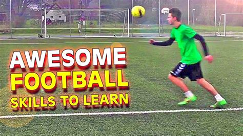 football skills tutorial skill how to get past a player learn 3 amazing football soccer skills tutorial youtube