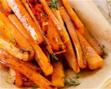 cuisiner carotte recette de patate douce et carotte r 244 ties aux 233 pices i g