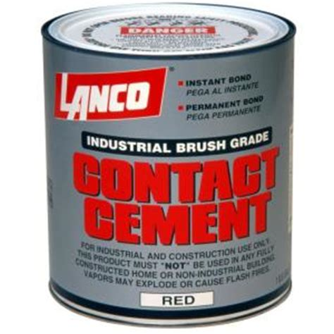 lanco 120 fl oz industrial contact cement ca993 4 the