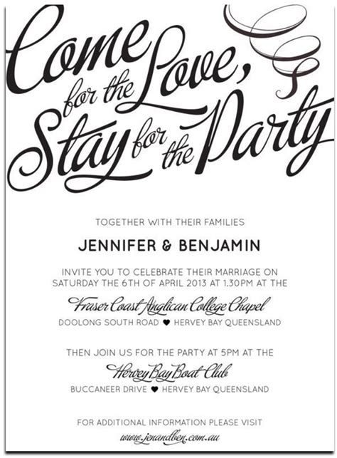 wedding invitation wording casual 20 popular wedding invitation wording diy templates ideas