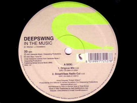 in the music deep swing deepswing in the music original mix electronicaliente