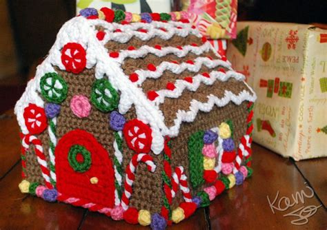 pattern gingerbread house crochet gingerbread house amazing must make this for