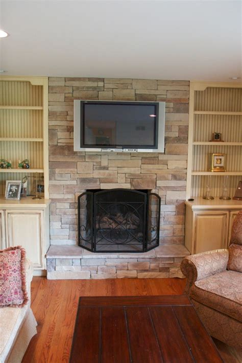 fireplace ideas with television above fireplace design