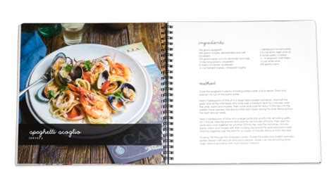 Recipe Books: make your own personal cook book
