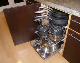 awesome Pot And Pan Organizer Ideas #1: kitchen-cupboard-slide-out-shelves.jpg