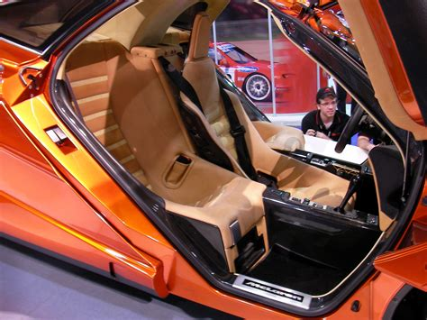 orange mclaren interior a classic jay leno story from top gear offering two