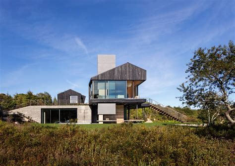 massachusetts house massachusetts island home is clad in charred cedar and