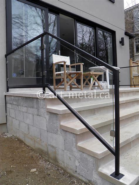 glass railing systems toronto stair balcony deck