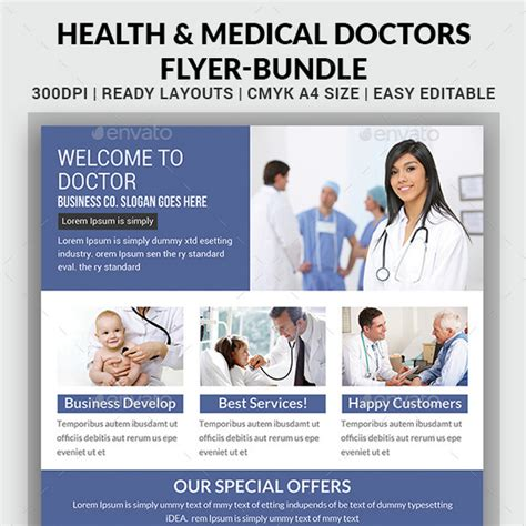 30 amazing health and medical flyer templates