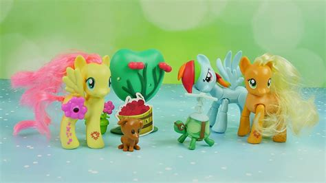 My Pony Fluttershy Flower Picking Original Hasbro adventure in the orchard my pony hasbro stories for children