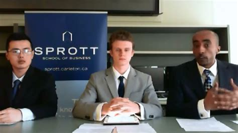 Economist Which Mba Competition by Sprott School Of Business Carleton The Economist