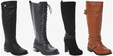 size 11 wide calf boots thirteen places to shop trendy and stylish wide calf boots