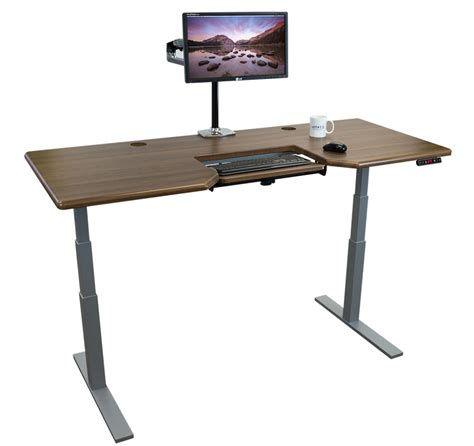adjustable stand up desk imovr olympus adjustable height stand up desk review