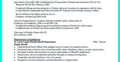 best criminal justice resume collection professionals we already knew that we must put our educational